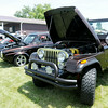 Don Knight | The Herald Bulletin<br /> A restored 1985 Jeep CJ7 was on display at Goodstock at Good's Candy Shop on Saturday.