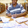 John P. Cleary | The Herald Bulletin<br /> Deon Parsons, a young cartoonist, has created the character Kurami.
