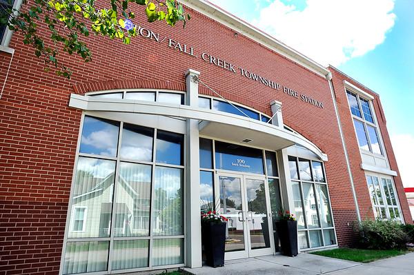 John P. Cleary | The Herald Bulletin  <br /> Pendleton/Fall Creek Township fire station.