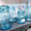 Don Knight | The Herald Bulletin<br /> Antique jars for sale at the North Anderson Flea Market in their new location at 3 Jackson Street in Anderson.