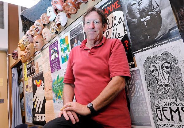 Don Knight | The Herald Bulletin<br /> Mask maker Doug Berky is closing Berkshop Theatre after 11 years and moving to South Carolina. He is planning a farewell show for July 13th through the 17th.