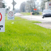 Don Knight | The Herald Bulletin<br /> A pair of signs opposed to a proposed wind farm in northwestern Henry County stand along U.S. 36 in Sulphur Springs in April 2016. Two other wind farms have been proposed in southern Henry County.