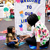 Don Knight | The Herald Bulletin<br /> Schneida Burgess talks to Serena Hurst in the library at the Killbuck Kindergarten Extension during meet the teacher night on Tuesday. Anderson students return to the classroom on Wednesday August 3rd.