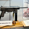 John P. Cleary | The Herald Bulletin<br /> The new Guide Lamp exhibit at the Madison County Historical Society includes<br /> a M3 Submachine gun which Guide Lamp manufactured during WW II.