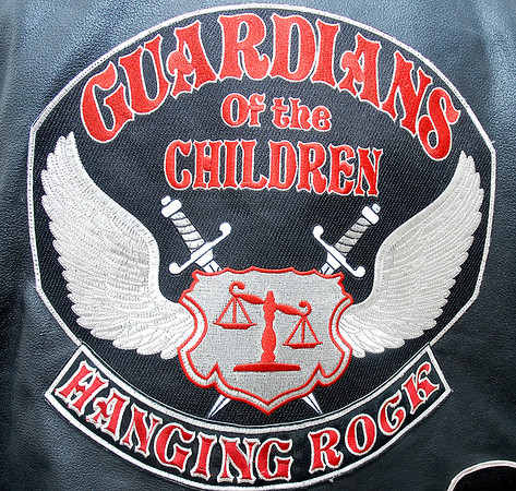 Stu Hirsch    The Herald Bulletin<br /> Guardians of the Children motorcycle group who are a support group for children who are victims of sexual abuse.