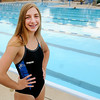Don Knight | The Herald Bulletin<br /> Lilly Brooks broke two backstroke records that had stood for 36 years at the Dolphin Club.