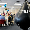 John P. Cleary |  The Herald Bulletin<br /> Rock Steady Boxing celebrated their one-year anniversary, and expansion, with a cookout for all their clients this past Wednesday.
