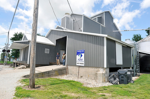 John P. Cleary    The Herald Bulletin<br /> Gist Feeds, at 475 West County Road 600 North, includes a grain elevator that was built in 1890.