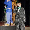 "Mark Maynard | for The Herald Bulletin<br /> Logan Hill portrays the all wise, all powerful Wizard of Oz in the Alexandria Commons Theatre's youth production of ""Oz."""