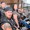 Stu Hirsch |  The Herald Bulletin<br /> Guardians of the Children motorcycle group who are a support group for children who are victims of sexual abuse.