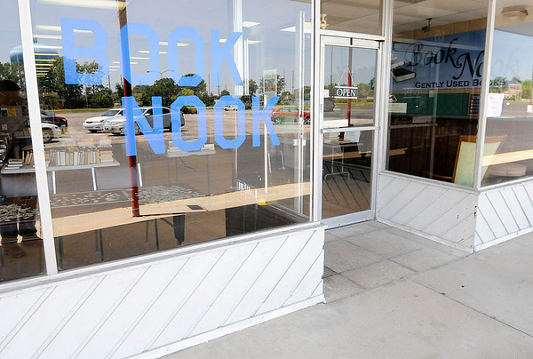 Don Knight | The Herald Bulletin<br /> The Book Nook is settling into their new location at Southdale Plaza on 53rd Street.