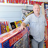 Don Knight | The Herald Bulletin<br /> Richie Detling owns Richie's Firworks on Ind. 67 in Chesterfield and has been selling fireworks for nearly 20 years.