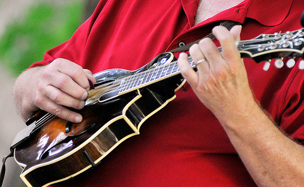 John P. Cleary | The Herald Bulletin<br /> A large crowd turned out Saturday for the annual Bluegrass Festival at Shadyside Park hosted by the White River Folk & Bluegrass Club.