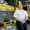 John P. Cleary | The Herald Bulletin<br /> Chesterfield Union Township Fire Chief Jamey Burrows. Burrows has had 25 years of fire service with the past six years being chief of the CUTFD.