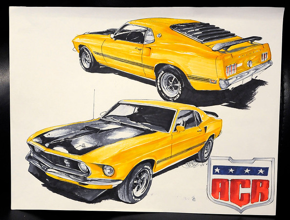 Don Knight | The Herald Bulletin<br /> American Classics Restoration provides their customers with an artist's rendering of their finished project.