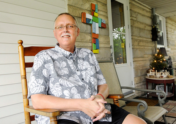 Don Knight | The Herald Bulletin<br /> Former Alexandria Council President Jeff Bryan stepped down as he battles  salivary gland cancer. Bryan has turned to his faith, his church family and his community for strength.