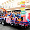 Don Knight | The Herald Bulletin<br /> The Parks Department decorated their float in a carnival theme for Anderson's Independence Day Parade on Tuesday.