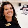 John P. Cleary | The Herald Bulletin<br /> Ashley Gustin is the principal of Anderson Intermediate School, home of the Pirates.