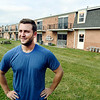 John P. Cleary | The Herald Bulletin<br /> Dylan Linsky, co-owner of Millennium Hill, has purchased the former Chase Apartments on East Tenth Street and is in the process of upgrading the 36 units in the apartment complex.