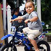 John P. Cleary | The Herald Bulletin<br /> Kayson McPhearson now is an active four year-old after having a kidney transplant in May.