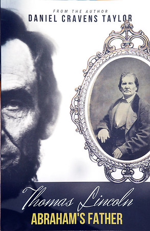 John P. Cleary | The Herald Bulletin<br /> This is the cover of Dan Taylor's book on Thomas Lincoln.