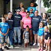 John P. Cleary | The Herald Bulletin<br /> Ashlee Fuller with her son Kayson, with family and friends.
