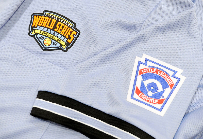 Don Knight | The Herald Bulletin Don Mason's uniform for the Little League Softball World Series.