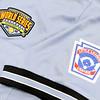 Don Knight   The Herald Bulletin<br /> Don Mason's uniform for the Little League Softball World Series.