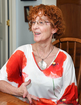 John P. Cleary | The Herald Bulletin<br /> Lynn Venable, who suffers from neurofibromatosis, estimates she and her husband Jon spend about $10,000 a year out-of-pocket on prescription drugs.