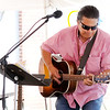 Don Knight | The Herald Bulletin<br /> Mark Volk performs at the Lapel Village Fair on Saturday.