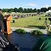 Daleville High School held their Class of 2020 Commencement outdoors on the field and track field Wednesday evening. 57 seniors received their diplomas.
