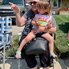 Misty Eads of Anderson points out a float to her granddaughter, Ashlyn Eads, during Chesterfield's Fourth of July parade Saturday. Ashlyn and her family were visiting from San Diego for the holiday weekend.
