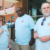 "Local UAW retirees stage a ""shopin"" at Payless stores in Anderson on Wednesday."
