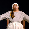 "Slave woman Tituba ( Donna Light) confesses to ""conjuring spirits"" with some of the village girls."