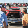 Almost 300 cars were on display Monday for the fourth annual Prime Timer Car Show held at Hoosier Park Racing & Casino.