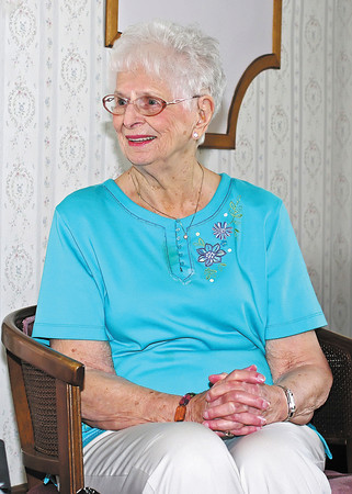 At 95, Dorothea Ballard reminisces about working, living and raising two sons in the funeral home owned by her and her late husband, George.