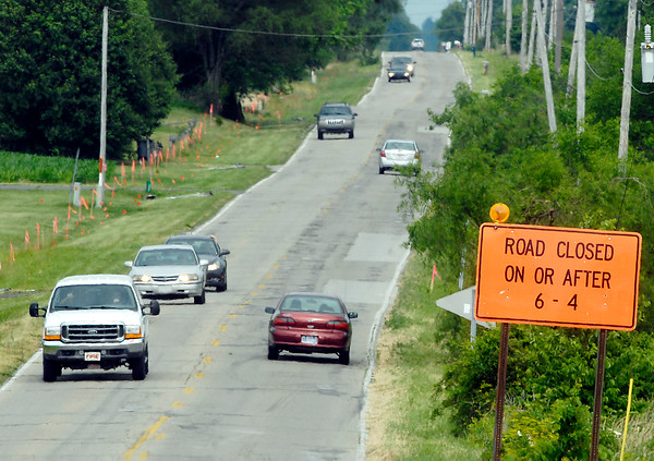 County Road 800 North will close Wednesday June 6th to be rebuilt with new pavement and widened to accommodate two 12-foot lanes from Indiana 9 East to the county line with Delaware County.  The road will be closed six months.