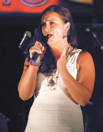 Hoosier Park finalist Kandis Chambers.