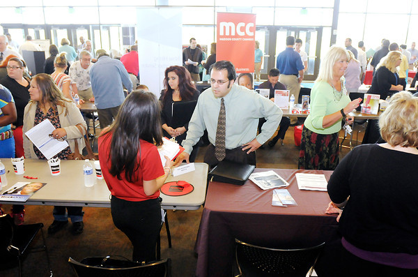 Madison Park Church of God hosted a Central Indiana Job/Career Fair last Thursday. Madison Park says it will file for Chapter 11 bankruptcy next month, after it couldn't pay a $5.8 million lump-sum payment on a loan it took out in 2007.