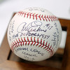A baseball autographed by Carl Erskine is one of the items being auctioned off during the Children's Clinic Celebrity Benefit and Pairings Party on June 17th.