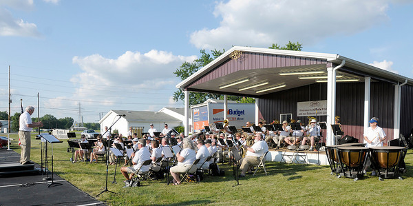 The Lapel Community Band performs a free concert at Good's Candy Shop on Friday. The band's next performance in Anderson is the July 4th Celebration at Shadyside Park on June 30th.
