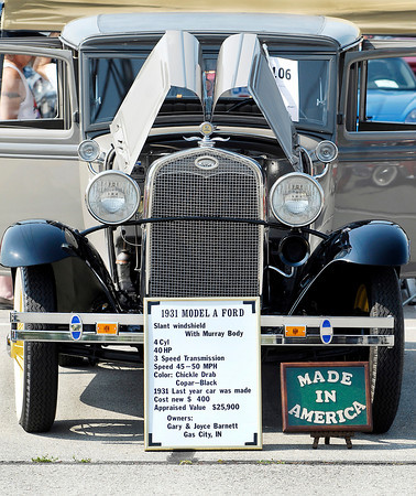 This 1931 model A Fort was on display as part of this years' American Classic Prime Timer Car Show at Hoosier Park Racing & Casino Monday.