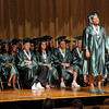 "Graduate Shaniece Turner sings ""Never Give Up"" during The Excel Center's graduation at the City Building auditorium on Thursday."