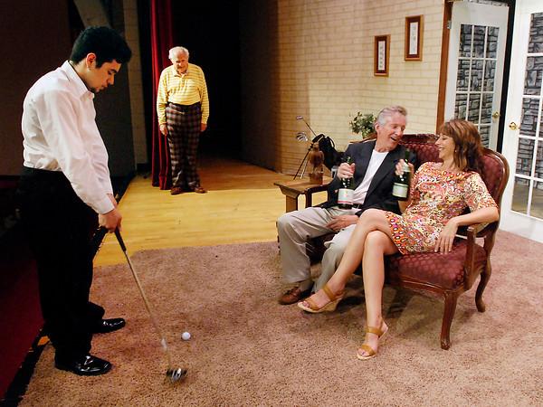 "The Alexandria Community Theatre presents ""The Fox on the Fairway."""