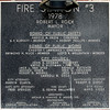The building plaque for fire station 3 at 2103 Columbus Ave.