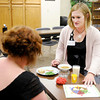 Don Knight | The Herald Bulletin<br /> Megan Barnes, a registered dietitian and diabetes educator at the Diabetes Care Center of Community Hospital Anderson, offers diabetes education. To view or buy this photo and other Herald Bulletin photos, visit photos.heraldbulletin.com.