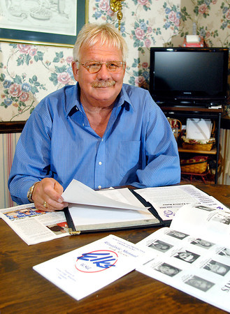 John P. Cleary   The Herald Bulletin<br /> Dick Dunn, of Anderson, will be installed as the new State Elks President this weekend at their annual state convention.