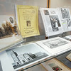 """John P. Cleary   The Herald Bulletin<br /> Madison County Historical Society's new exhibit """"Active Madison County Churches Over 100 Years Old."""""""