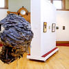 """John P. Cleary   The Herald Bulletin<br /> """"Stirring the Hornet's Nest"""" by Stephanie Cochran hangs in the middle of the gallery  in the 3rd annual """"Figures of Speech"""" exhibit at The Anderson Center for the Arts. The artwork took honorable mention in the exhibit."""