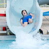 Don Knight | The Herald Bulletin<br /> James Clark rides down the slide at Brown Pool in Pendleton on Thursday.<br /> To view or buy this photo and other Herald Bulletin photos, visit photos.heraldbulletin.com.